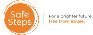 Safe Steps Logo | For a brighter future, free from abuse