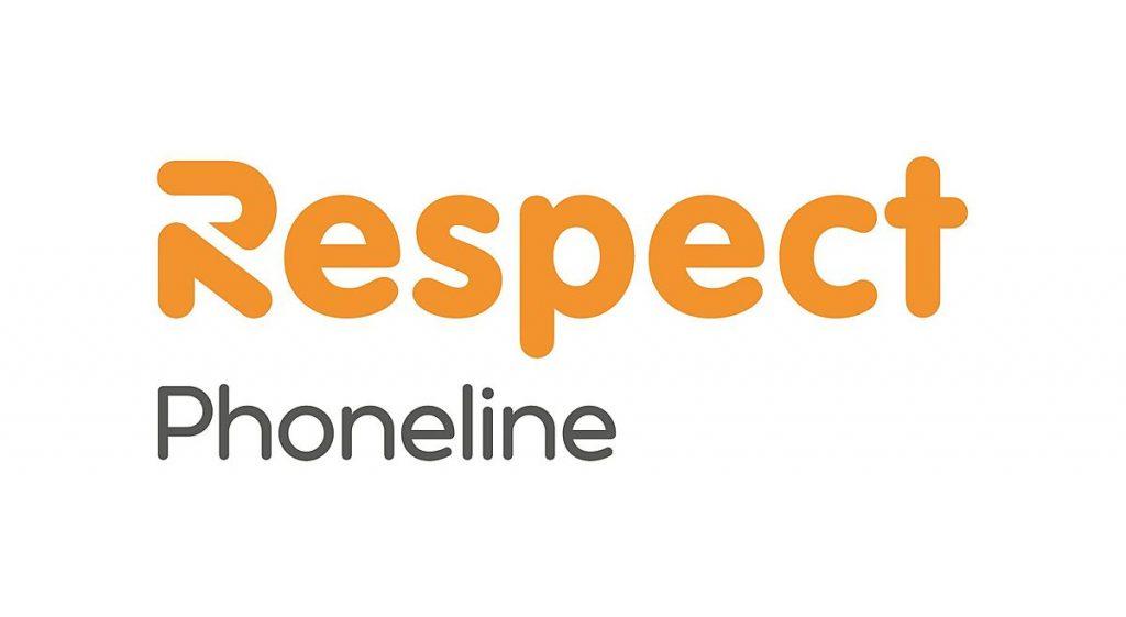 Respect Phoneline Call: 0808 8024040